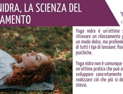 YOGA NIDRA la scienza del rilassamento
